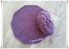 Come si fa un basco di lana a uncinetto: i tutorial di Camilla Knit Crochet, Crochet Hats, Camilla, Cool Stuff, Knitting, My Style, Hobby, Green Beret, Home