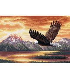 Dimensions Gold Collection Counted Cross Stitch Kit Silent Flight at Joann.com