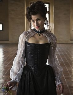 Maimie McCoy as Milady de Winter inThe Musketeers (TV Series, 2014).