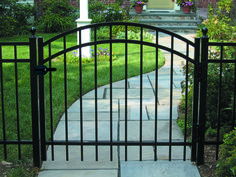 Double Drive Ornamental Aluminum Gates Gates In 2019
