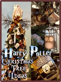 HollysHome Family Life: My Harry Potter Christmas Tree and Ornament Tutorial, Ch., DIY and Crafts, HollysHome Family Life: My Harry Potter Christmas Tree and Ornament Tutorial, Cheap and Easy Ideas From the Dollar Store. Harry Potter Halloween, Deco Noel Harry Potter, Harry Potter Navidad, Harry Potter Weihnachten, Décoration Harry Potter, Harry Potter Thema, Harry Potter Birthday, Harry Potter Christmas Decorations, Harry Potter Christmas Tree