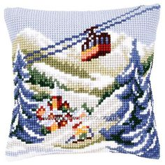 Shop online for Ski Lift Cushion Front Chunky Cross Stitch Kit at sewandso.co.uk. Browse our great range of cross stitch and needlecraft products, in stock, with great prices and fast delivery.