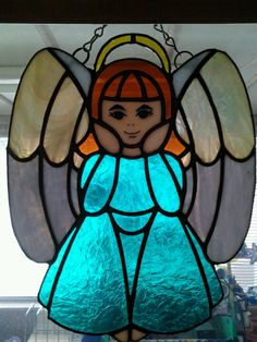 My angel, stained glass!