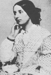 Ambrotype of Fanny Brawne, Keats's Bright Star.