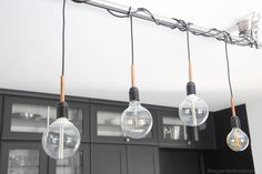 regardsetmaisons: Comment j'éclaire ma cuisine avec une suspension homemade - DIY -