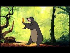 """▶ """"Das Dschungelbuch"""" - Probier's mal mit Gemütlichkeit - Balu und Mogli - YouTube"""