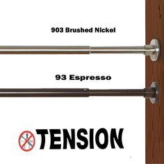 Versailles' DUO Indoor & Outdoor Extra Wide Stainless-Steel Tension Curtain Rod use.This durable rod is, stainless steel and rust resistant. Outdoor Blinds, Outdoor Curtains, Curtains With Blinds, Indoor Outdoor, Decorative Curtain Rods, Stainless Steel Rod, Window Coverings, Window Treatments, Shades Blinds