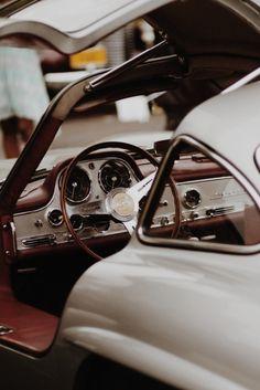Legendary classic | Mercedes Bebz 300SL Gullwing Interior | Random Inspiration 170 | Architecture, Cars, Style & Gear