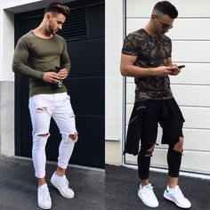 "108 Likes, 1 Comments - Streetstyle For Him (@streetstyleforhim) on Instagram: ""Left or Right? Follow us (@streetstyleforhim) for a chance to get featured! DM for shoutouts Style…"""
