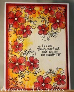 Nuances et trio de fleurs http://creationsalestresors.blogspot.ca/2015/10/nuances-et-trio-de-fleurs.html
