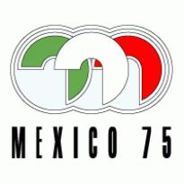 Mexico 75 Logo. Get this logo in Vector format from http://logovectors.net/mexico-75/