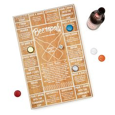 Fun is brewing with this beer-drinking board game.