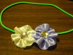 #TBCcrafters 1: Ribbon flowers headband without a glue gun