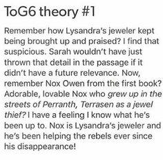 Theories!!!!