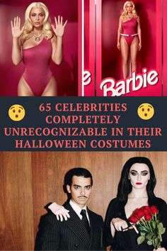 Here are 65 celebrities who were completely unrecognizable in Halloween costumes: #celebrities #celebritiesHalloweencostumes #Halloweencostumes #funnier