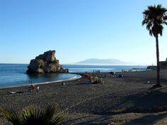 Playa Peñón del Cuervo, Malaga - Costa del Sol (Espagne)