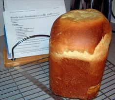 Brioche Loaf Breadmaker Machine 1 1 2 Lb. Loaf) Recipe - Food.com - 94536