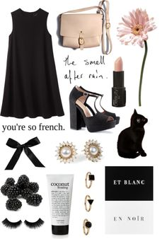 """""""In the rain, the pavement shines like silver."""" by emmsrose ❤ liked on Polyvore"""