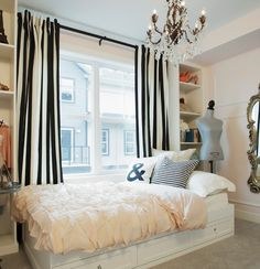 Personally, I love everything, but pinning for the throw pillows, curtains, and mannequin!