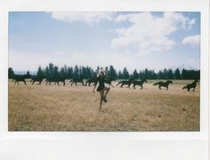 Jenny and Jason Lee Parry documented their summer road trip through this series of beautiful polaroids created in collaboration with Solestruck. Girl Life Hacks, Girls Life, Wild And Free, Wild West, Pretty Face, Photo Art, Road Trip, Photoshoot, Horses