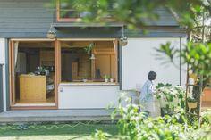 庭とつながる木の家 福岡・鹿児島で家づくり|シンケンスタイル