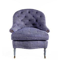 cushion too much? AERIN Lauder sofa material, oh she's got an arm off!
