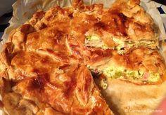 Torta ta L-Irkotta (Maltese Ricotta Pie) Milk Recipes, Cooking Recipes, Healthy Recipes, Healthy Food, Strudel, Empanadas, Ricotta Pie, Vegetable Pie, Fish Pie