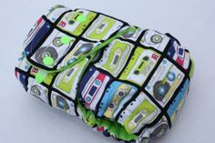 Tape Remix $27 Hybrid Fitted Cloth Diaper