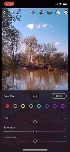 This is a photo editing workflow captured on iPhone XS. I used the Lightroom Mobile version which is free.
