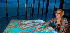 Visualizing the Bay Area | Exploratorium. Large-scale relief map is a projection surface with data (geology, weather, and other phenomena). Partnerships with artists and scientists.