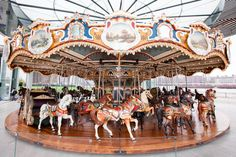 Jane's Carousel restored to ride as one of the most expensive ever