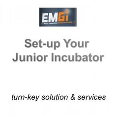 turn-key solution & services   A Quick Set-Up Kick-off: on site Innovation Seminar and screening Program: online weekly sessions (live and offline. http://slidehot.com/resources/emgi-junior-incubator.53093/