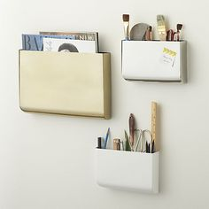 revere wall mounted storage | CB2