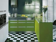 images of green tile kitchen floors - Google Search
