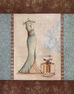 Aqua Fashion I - mini