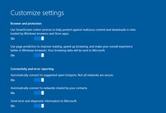 Windows 10 Privacy Settings || Extreme Tech article