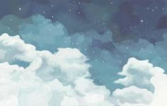 desktop wallpaper Fantastic starry sky wallpaper removable clouds wall mural for Cute Laptop Wallpaper, Wallpaper Für Desktop, Wallpaper Notebook, Aesthetic Desktop Wallpaper, Wallpaper Please, Cloud Wallpaper, Macbook Wallpaper, Pastel Wallpaper, Computer Wallpaper