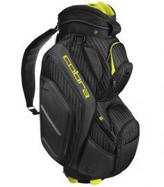 cobra - pretty sick! Cobra Golf, Golf Bags, Sick, Insight, Black And White, Pretty, Sports, Hs Sports, Black N White