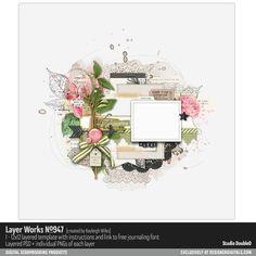 Layer Works No. 947- Studio Double-D Templates- LT114783- DesignerDigitals