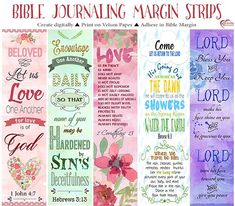 I got frustrated trying to Bible Journal and ending up with my lousy handwriting and  smeared ink. I now make Margin Strips on the computer (with fabulous fonts)  print them out on vellum paper (made for the printer) and adhere in my wide Margin Bible. I still play with Gesso and Gelatos but my margins are mostly digital.  We all have different gifts!  Join our Bible Journaling Digitally Facebook Group https://www.facebook.com/groups/BibleJournalingDigitally