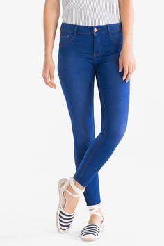Z2018  Kobiety - THE JEGGING JEANS - dżins-niebieski