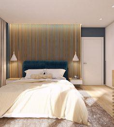 Moderrn apartment in Comfort Town on Behance Kitchen Room Design, Dorm Bedding, Luxurious Bedrooms, Luxury Bedrooms, Bedroom Layouts, Apartment Interior, Best Interior, Bed Frame, House Design