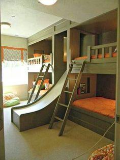 Cabin bunk house idea