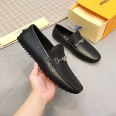 Lv Men Shoes, Man Shoes, Leather Loafers, Loafers Men, Groom Attire Black, Crocodile, Oxford Shoes, Dress Shoes, Louis Vuitton