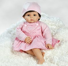 "What a fitting name! We just love our ""Loved"" doll by Paradise Galleries!"