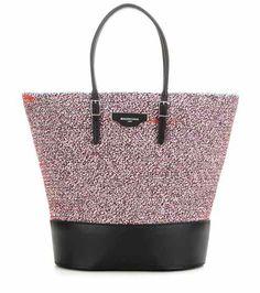 Fabric and leather shopper | Balenciaga