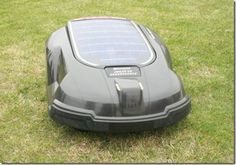 Husqvarna announced a new hybrid solar lawnmower, & it looks pretty cool. It is very quiet & seems to work just like the robotic Roomba vacuum. It has a solar panel for charging in the sun, a docking station (for charging when there isn't any sun), and a programming control panel. The lawnmower will run for about 40 minutes per full charge. I was half excited, until I saw the price tag… $3,971! I could pay a professional gardener for about 6 years for the same price… so it will be awhile!