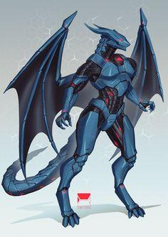 Alien Concept Art, Creature Concept Art, Weapon Concept Art, Creature Design, Fantasy Character Design, Character Design Inspiration, Character Art, Robot Dragon, Dragon Armor