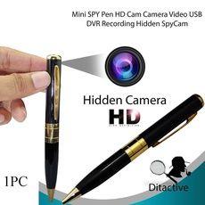 HD Pocket Pen Camera Hidden Spy Wireless Mini Portable Body Video Recorder DVR