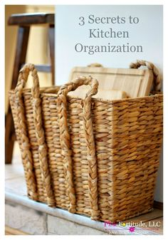 Why does it seem like kitchen organization is the bane of everyone's existence? Including myself! Sometimes in life, it's the simple things that work the best. Here are 3 secrets! Home Organization Hacks, Pantry Organization, Organizing Your Home, Organizing Ideas, Organising, Decluttering Ideas, Diy Hacks, Cleaning Hacks, Coconut Head